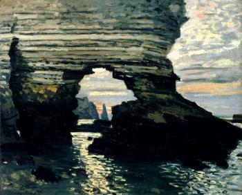 Claude Oscar Monet : La Porte D'Amount, Etretat